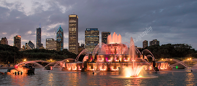 Third Place (Tie)<br /> Buckingham Fountain<br /> Nancy Springer