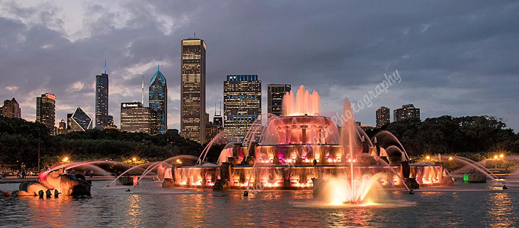 Third Place (Tie)<br /> Buckingham Fountain<br /> Nancy Springer