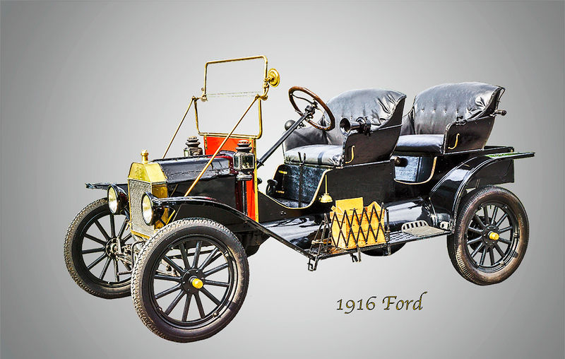 Second Place (Tie)<br /> 1916 Ford<br /> John Beam