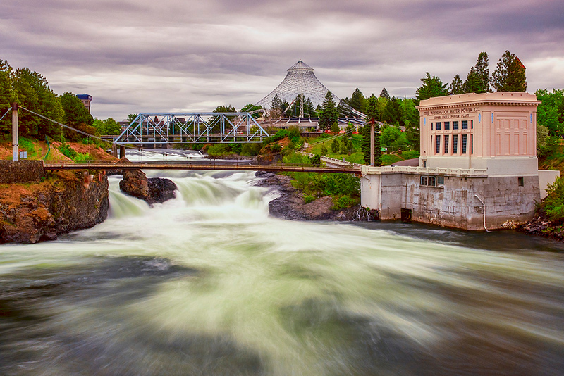 Second Place (Tie)<br /> Spokane Falls<br /> Karen Regan