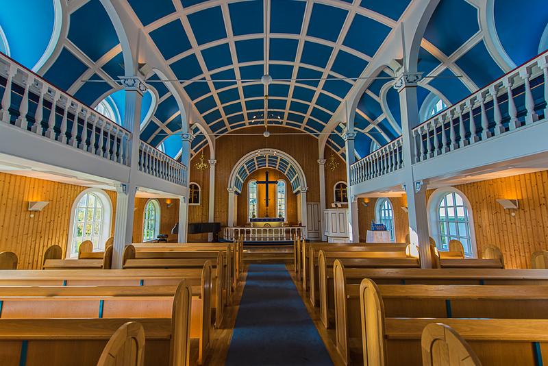 Second Place (Tie)<br /> Icelandic Church<br /> Rich Johnson
