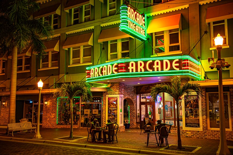 Second Place (Tie)<br /> Arcade Theatre<br /> Rich Johnson