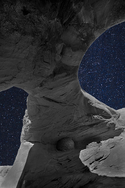 First Place<br /> Moonlit Arch<br /> Dave Garrison