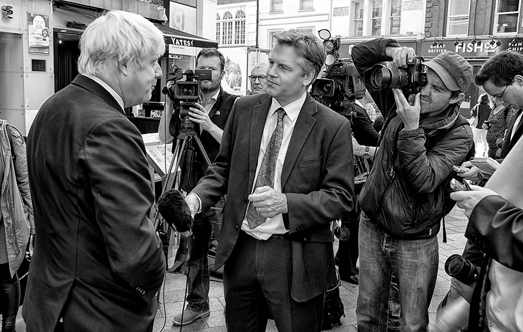 March<br /> 3rd Place Award<br /> Journalism Division<br /> London Mayor Interview<br /> Ed Cohen