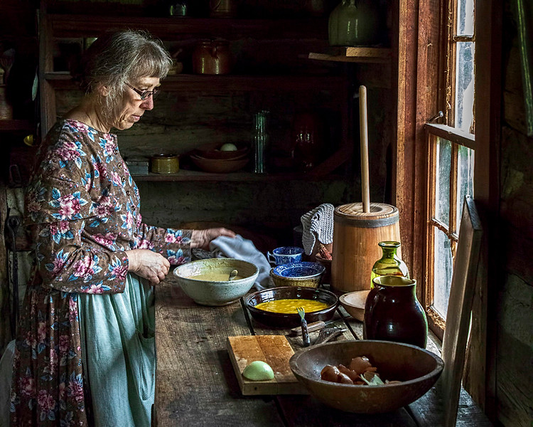 May <br /> 2nd Place<br /> Photo Journalism<br /> Pioneer Breakfast<br /> Dave Garrison