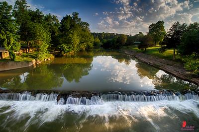 Reflections on War Eagle Creek