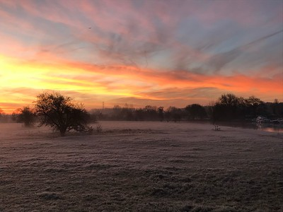 15 - Chertsey Sunrise
