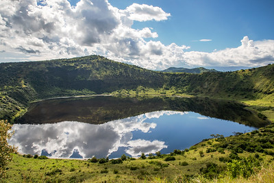 Queen Elizabeth Crater Lake