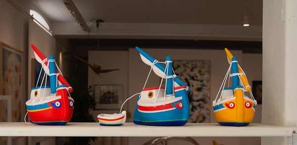 Four Little Boats