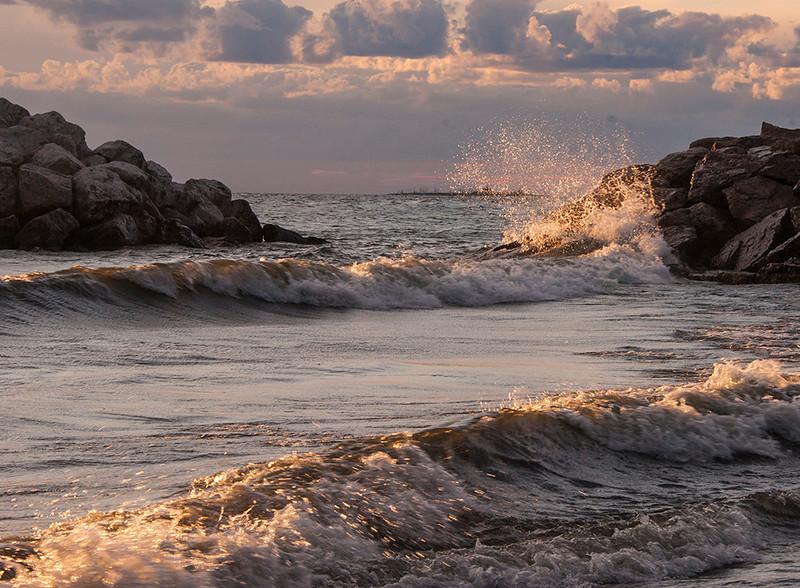 Lake Michigan Sunrise<br /> Tom Vincent