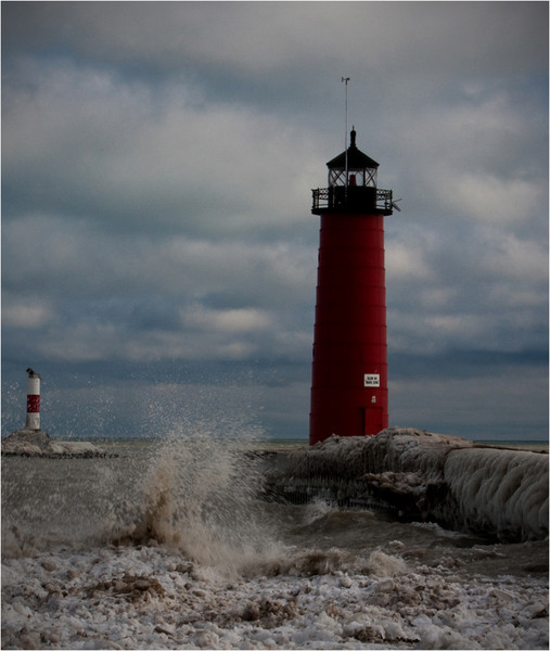 Tom Mulick - Wintry Lighthouse