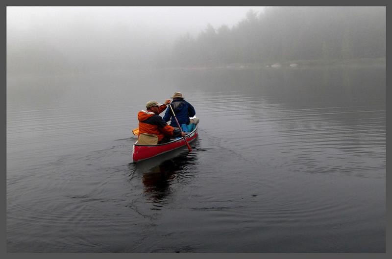 Ken Black - Red Foggy Canoe