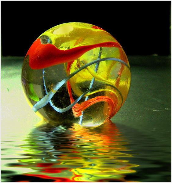 Floating Ball - Irene Szilagyi