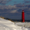Winter at Grand Haven Lights - Tom Mulick