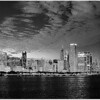 Chicago Night (B&W)<br /> Kathy Zelm-Gazzolo