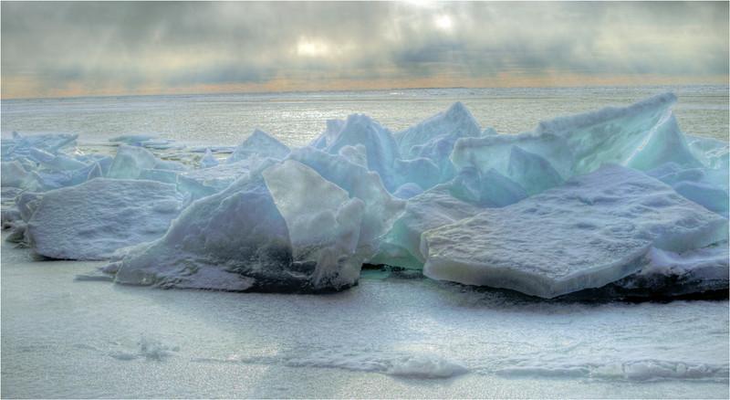 Blue Ice<br /> Jeanne Garrett