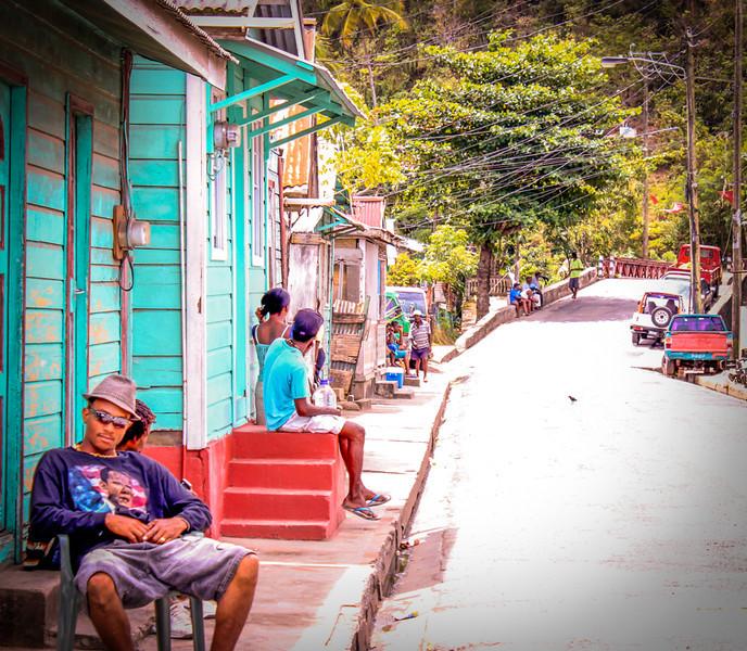 Chillin' in St. Lucia<br /> Jeff Bonta