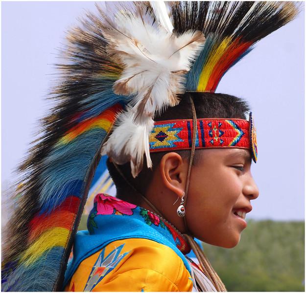 Indian Dancer Boy<br /> Irene Szilagyi