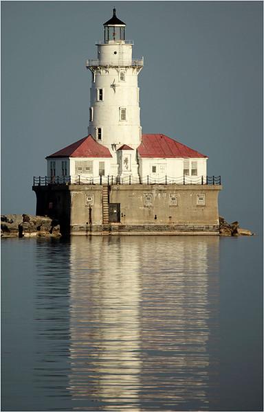 Chicago Harbor Lighthouse<br /> Louis Sobolewski