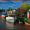 Two Rivers Fishing Boats<br /> Marie Rakoczy