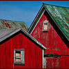 Red Barn Rooflines<br /> Marie Rakoczy