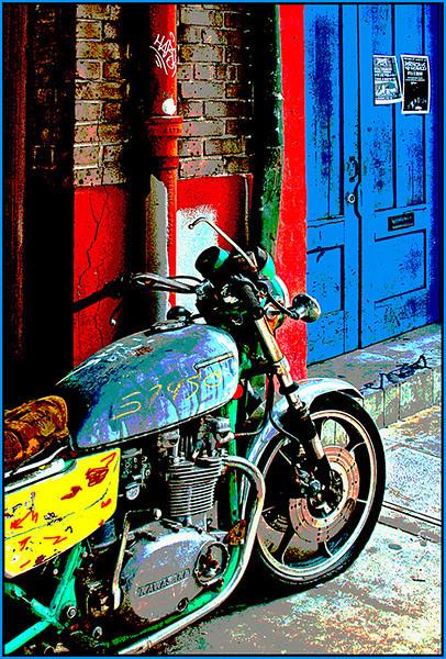 Back Alley Bike<br /> Marie Rakoczy