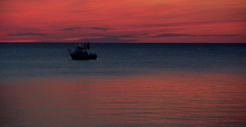 Sister Bay Sunset - Tom Vincent