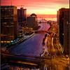 January Sunrise Chicago - Marie Rakoczy