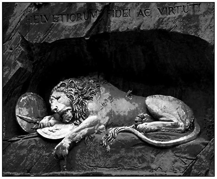 Lion of Lucerne - Ken Kendzy