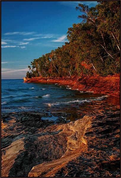 Exposed Rock at Miners Beach - Marie Rakoczy