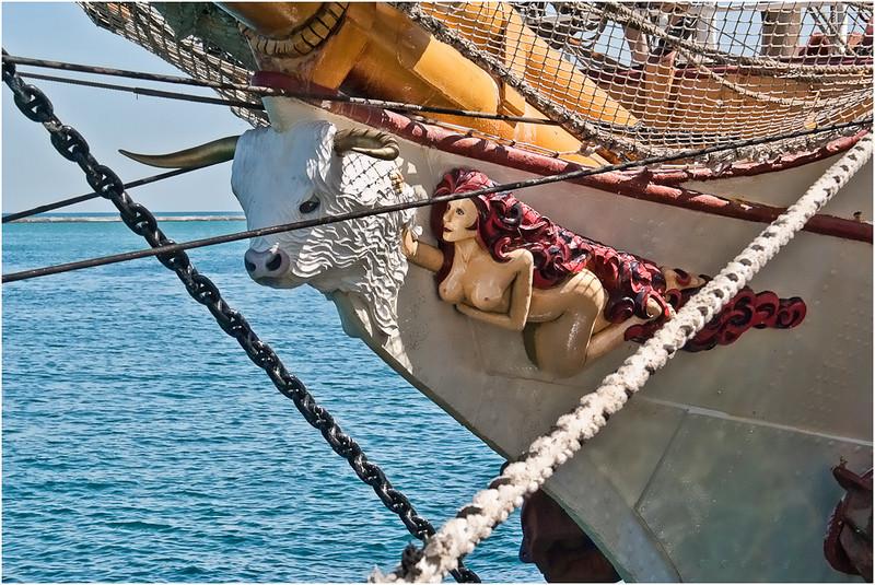 Wesley Kiel - Figurehead Of A Tall Ship