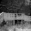Rickety Bridge BW - Itasca<br /> Tom Vincent