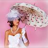 Lady with Umbrella<br /> John Kowalyk