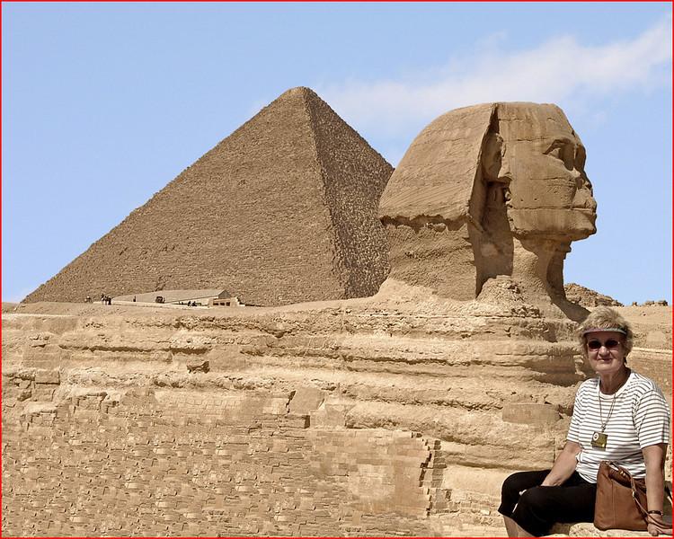 Ancient Pyramids of Giza & Sphinx<br /> Joe Tarlos