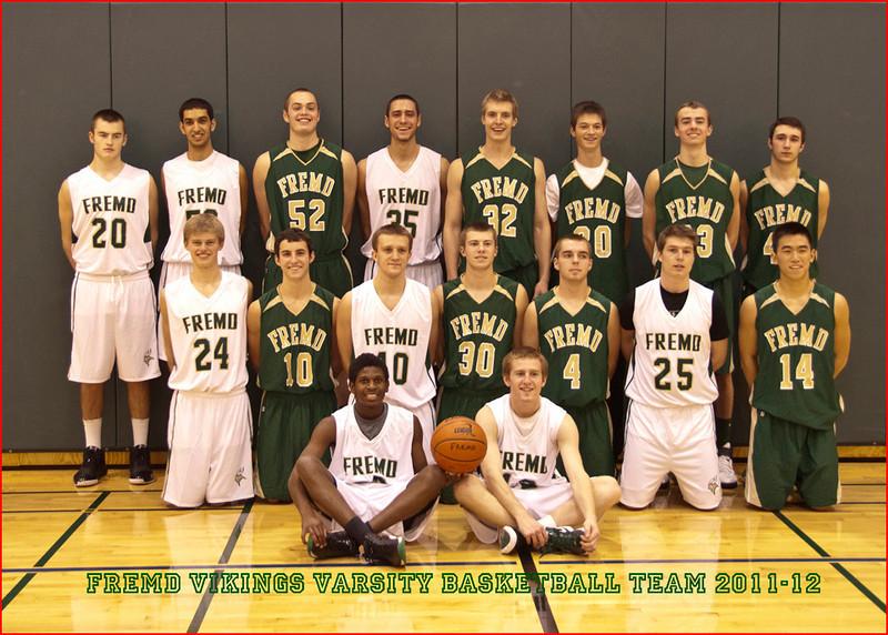 Fremd Varsity Basketball Team<br /> Joe Tarlos