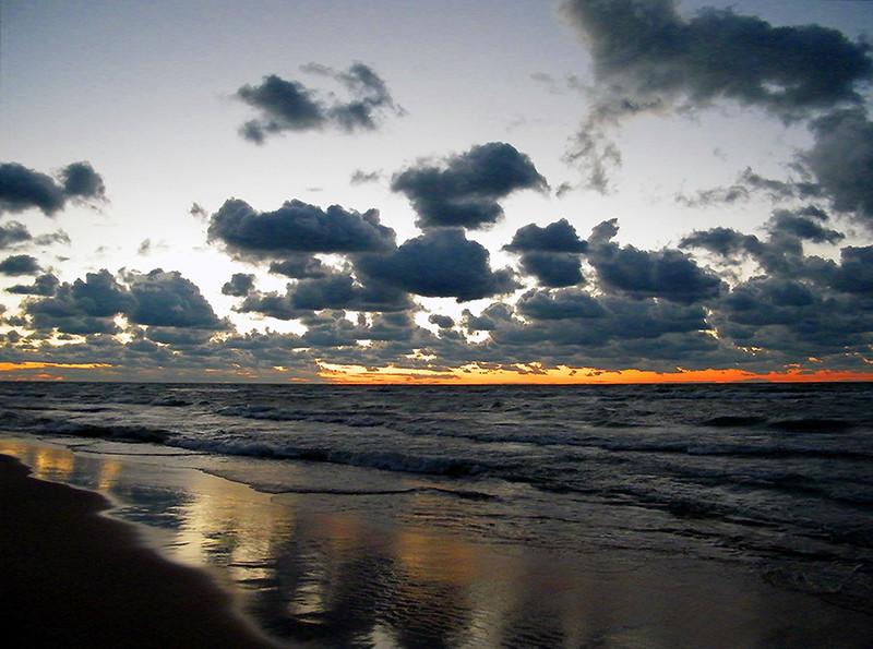 Sunset Over Lake Michigan<br /> Ken Kendzy