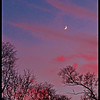 Autumn Sunset and Moon<br /> Ken Black