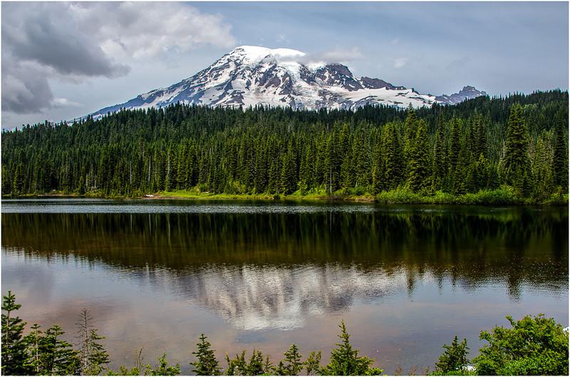 Rainier Reflection<br /> Dave Waycie