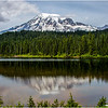 Rainier Reflection<br /> Dave Waycie