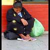 Cancun Beggar Lady<br /> Ken Black