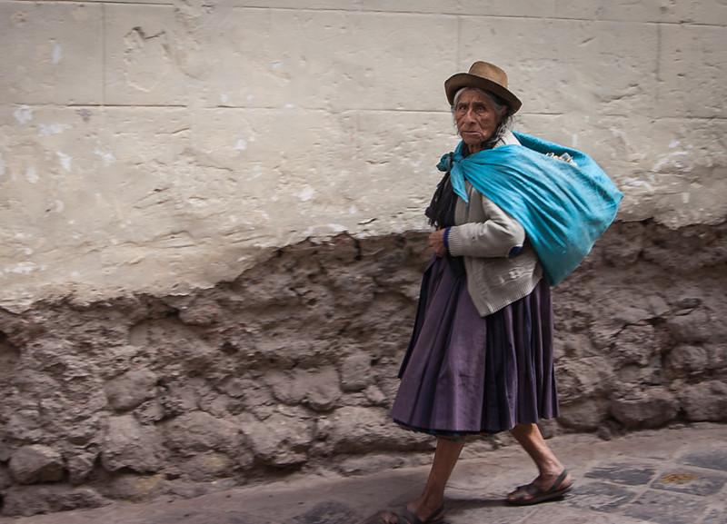 Old Peruvian Woman<br /> Jeff Bonta