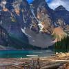 Moraine Lake Log Jam<br /> Tom Mulick