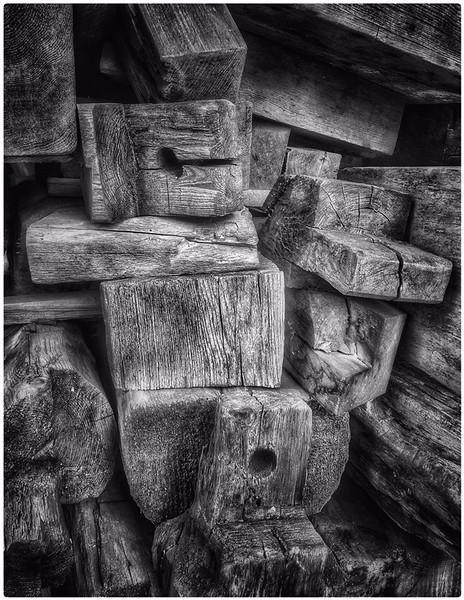 Old Barn Parts - Jerry Hug