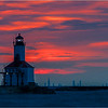 Sunset Over Chicago - Gary Taylor