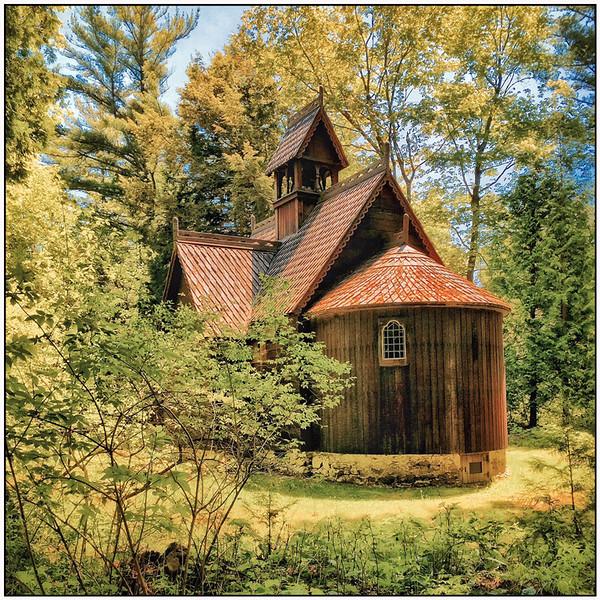 Door County Church - Jerry Hug