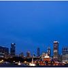 Tom Mulick - Blue Light Skyline