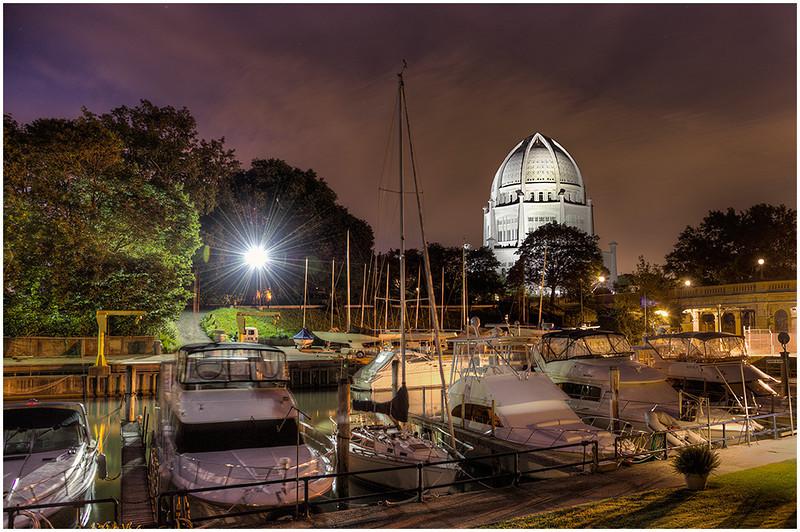 Wilmette Harbor Before Dawn<br /> Bill Bishoff