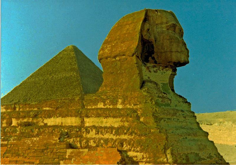 Sphinx and Pyramid<br /> Ken Black