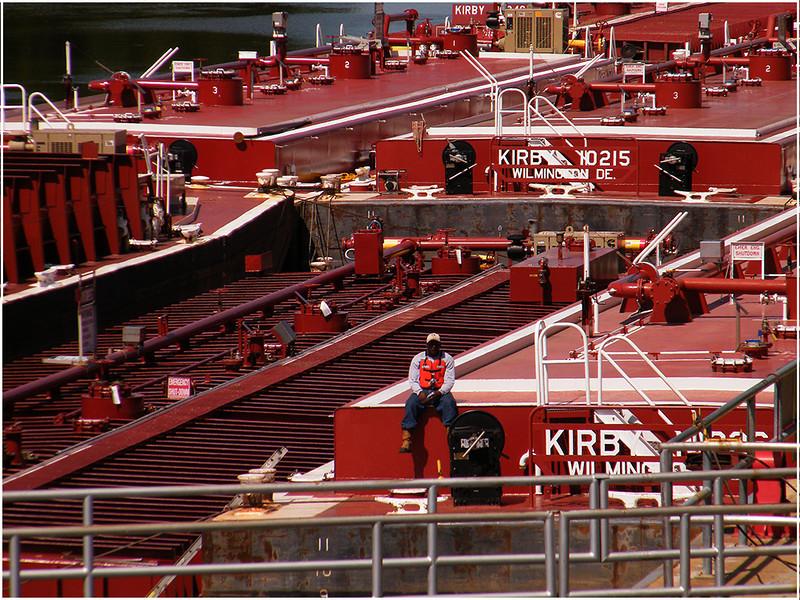 The Barge Man<br /> Ken Kendzy