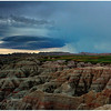 Approaching Storm in the Badlands<br /> Tom Mulick